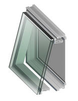 Phantom 5000 Zero Sightline Windows feature aluminum frame design.