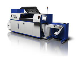 SurePress L-4533AW Digital Label Press is suitable for image serialization.