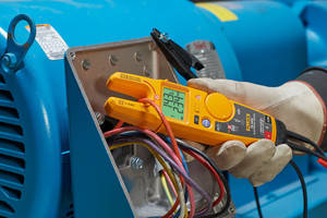 Fluke T6 Electrical Testers come with backlight reading display.