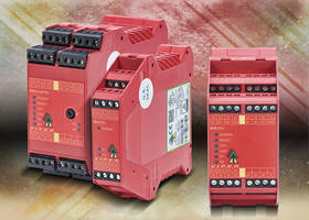 SEU31 Series Viper Safety Relays are CE and TUV certified.