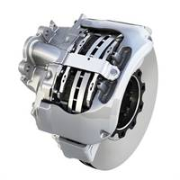 EX+ Air Disc Brake features twin-piston design.