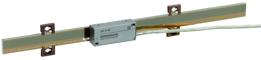 LIC 4100 V Linear Encoder is equipped with vents.