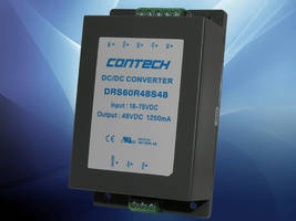 DRS Series DC/DC Converters are RoHS compliant.