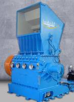SMS 100/160-9-2 SB3 Force Fed Granulator features destruction chamber.