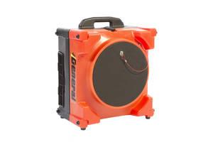 AF500 AIR-SCRUB-R™ HEPA Air Filter weighs 33 lbs.