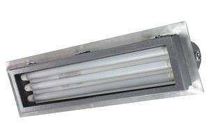 C1D2 UV Fluorescent Fixtures offer 150° wide beam angle.