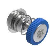 52 Miniature Captive Screw Series features over-molded head.