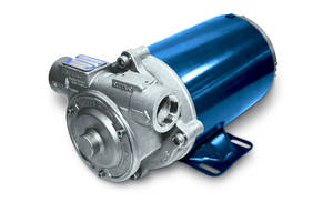 SX1B-DEF Series Sliding Vane Pump features 316 stainless-steel motor shaft.