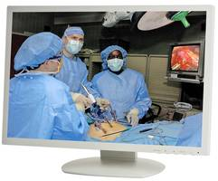 MM-24 Series Medical-Grade Monitors feature rear VESA mount holes.