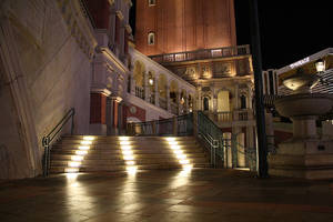 Weather-proof Step Lights feature LED optical chamber.