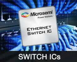 Serval-T Ethernet Switches feature on-chip phase-locked loop.