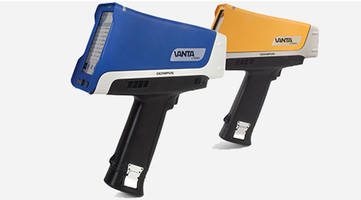 Vanta™ VCA Handheld XRF Analyzer is IP65 rated.