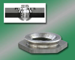 PEMSERT® Self-Clinching Stainless Steel Flush Nuts for Thin Metal Sheets Provide Strong Threads Without Protruding or Marring Assemblies