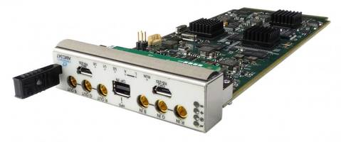 Video Encoder/Decoder Modules are suitable for video intensive applications.