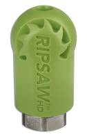 Ripsaw HD Rotating Turbo Nozzle comes with heavy-duty coating.