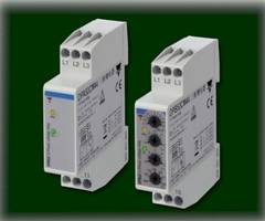 3-Phase Monitoring Relays feature built-in switch mode power supply.