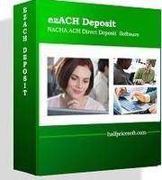ezACH Direct Deposit Software allows user to pay taxes electronically.