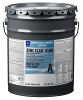 Zinc Clad 4100 Epoxy Coating is suitable for blasted steel.