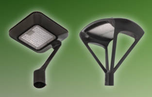 Decorative LED Post Top Fixtures come with high-transmission polycarbonate lens.
