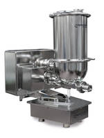 Pharmaceutical Feeder features Smart Force Transducer weighing technology.