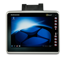 Rhino II Vehicle Mount Computer features anti-glare multi-touch screen.