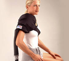 IsoComforter's Shoulder Pad offers accurate therapeutic temperature ranges.