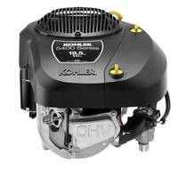 KOHLER 5400 Series Single-Cylinder Engine is equipped with inverted oil filter and quarter-turn knobs