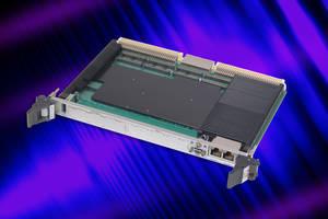 6U VME Single Board Computer features on-board memory with ECC.