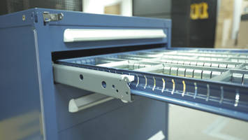 Drawer Slide System is compatible with Vidmar® cabinets.