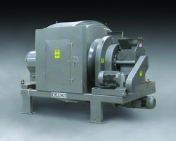 700-THX-50-ARI Rotary Batch Mixer comes with horizontal rotating vessel.