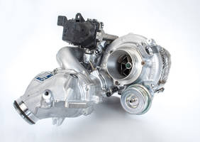 BorgWarner's R2S® Turbocharger is equipped with water-cooled e-actuator.
