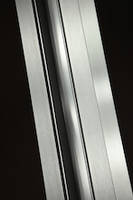 Brushed Stainless Anodize Finish is suitable for architectural construction industry.