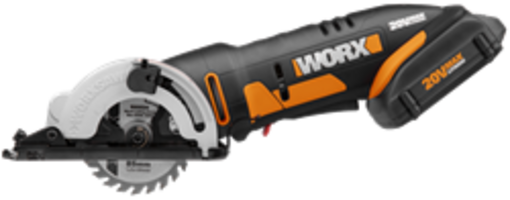 WORXSAW Compact Circular offers lightweight portability and ease of handling.