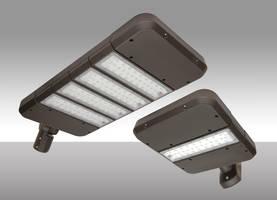 QuadroMAX Plus Lighting Fixture features 20kV surge suppressor.