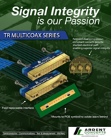 TR Multicoax Connector comes with solderless compression mount option.