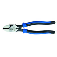 Heavy-Duty Diagonal Cutting Pliers feature hot-riveted joint.