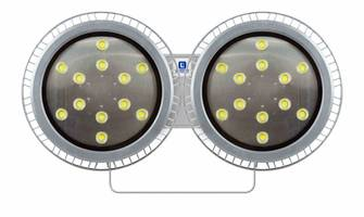 Water Proof LED Light Fixture comes with polycarbonate lens.