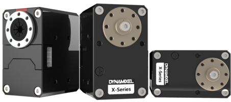 DYNAMIXEL X-Series Actuators feature redesigned aluminum case.