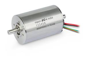 Brushless DC Motor comes with 8 pole pairs.