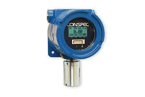 Optio XP® Multi-Head Wired Gas Detector comes with LCD display.