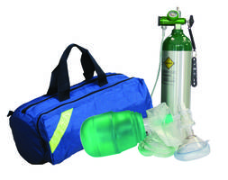 Resuscitator Kits are used in breathing and cardiac emergencies.