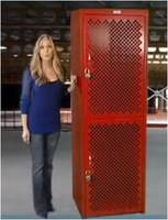 A Plus Warehouse is Pleased to Now Offer Our Vented Rhino Lockers with a Built In KeyLock