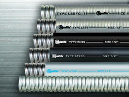 Stainless Steel Flexible Conduits are suitable for wastewater treatment facility applications.