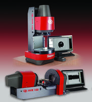 HVR100-FLIP Benchtop Vision Measurement System features high-resolution digital video camera.