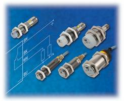 4-Wire Inductive Proximity Sensors come with built-in microcontroller.