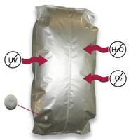 Multi-Layer Barrier Bag is moisture resistant.