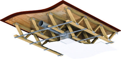 Greenheck Ceiling Radiation Damper UL Classified for Wood Truss Assemblies