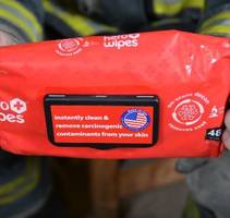 Firefighter Hero Wipes are suitable for on-scene decon applications.