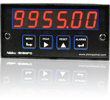 PC-QD 1/8 DIN Process Counter/Totalizer features anti-jitter circuits.