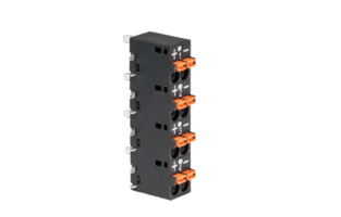 0171 Series Terminal Block is equipped with LED light.